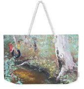 Swinging On The Old Tyre Weekender Tote Bag