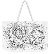 Swirl Haven - Horizontal  Weekender Tote Bag