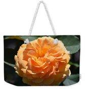 Swirling Peach Rose Weekender Tote Bag