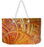 Swirling Rectangles Weekender Tote Bag