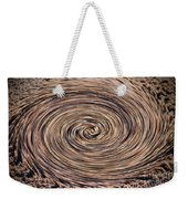Swirling Sand Weekender Tote Bag