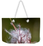 Swirling Wildflower Weekender Tote Bag