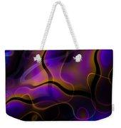 Swirly Bits Weekender Tote Bag by Hakon Soreide