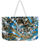 Swirly Mirror Weekender Tote Bag
