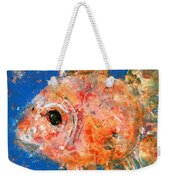 Swishy Fishy Weekender Tote Bag
