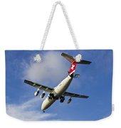 Swiss Air Bae146 Hb-ixw Weekender Tote Bag