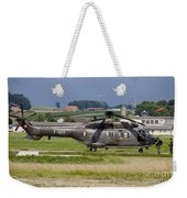 Swiss Air Force Eurocopter Cougar Weekender Tote Bag