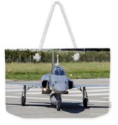 Swiss Air Force F-5e Tiger Recovering Weekender Tote Bag