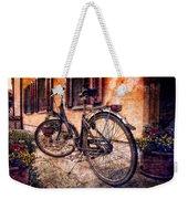 Swiss Bicycle Weekender Tote Bag