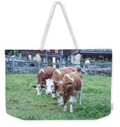 Swiss Cows Weekender Tote Bag