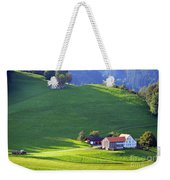 Swiss Farm House Weekender Tote Bag