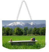 Swiss Spa Weekender Tote Bag
