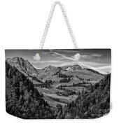 Swiss Valley Bw Weekender Tote Bag