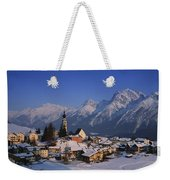 Switzerland Weekender Tote Bag