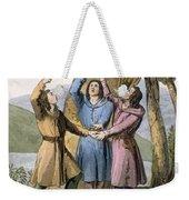 Switzerland The Three Leaders Weekender Tote Bag