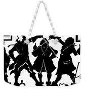 Sword Duel Silhouette  Weekender Tote Bag