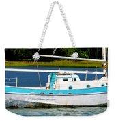 Swordfish Boat Pano Weekender Tote Bag