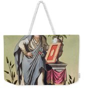 Sybil Of Cumae, No. 16 From Antique Weekender Tote Bag