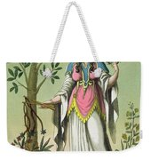 Sybil Of Delphi, No. 15 From Antique Weekender Tote Bag