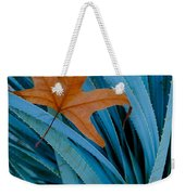 Sycamore Leaf And Sotol Plant Weekender Tote Bag