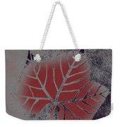 Sycamore Leaf Weekender Tote Bag