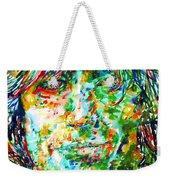 Syd Barrett - Watercolor Portrait Weekender Tote Bag
