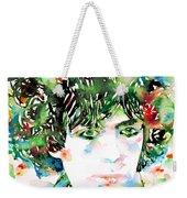 Syd Barrett Watercolor Portrait.1 Weekender Tote Bag