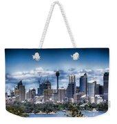 Sydney Australia Skyline Weekender Tote Bag
