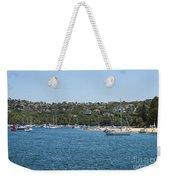 Sydney Beach And Boat Docks Weekender Tote Bag