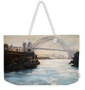 Sydney Ferry Wharves 1950's Weekender Tote Bag