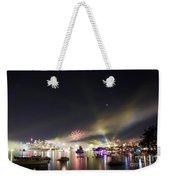 Sydney Navy Fleet Fireworks Weekender Tote Bag
