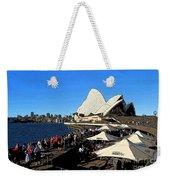Sydney Opera House Bar Weekender Tote Bag