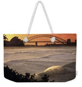 Sydney Surf Time Weekender Tote Bag