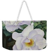 Sydneys Rose Oil Painting Weekender Tote Bag