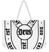 Symbol Holy Trinity Weekender Tote Bag