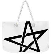Symbol Pentacle Weekender Tote Bag