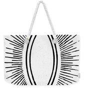 Symbol Vesica Piscis Weekender Tote Bag