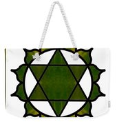 Symbolic Serenity Abstract Chakra Art By Omaste Witkowski  Weekender Tote Bag