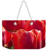 Symbolic Tulips Weekender Tote Bag