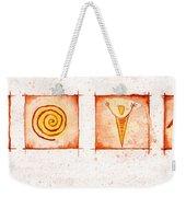 Symbols In Stone Weekender Tote Bag