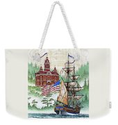 Symbols Of Our Heritage Weekender Tote Bag by James Williamson
