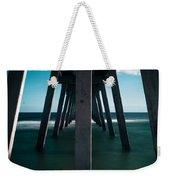 Symmetry Under The Pier  Weekender Tote Bag