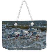 Synchronized Beach Combing Weekender Tote Bag