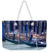 Syncronized Gondoliers Weekender Tote Bag