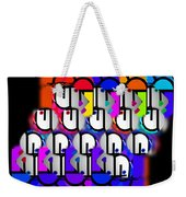 Synth Weekender Tote Bag