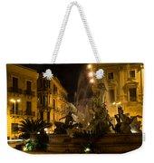 Syracuse - Diana Fountain  Weekender Tote Bag