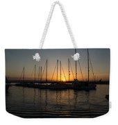 Syracuse Harbor Sunset Weekender Tote Bag