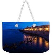 Syracuse Sicily Blue Hour - Ortygia Evening Mood Weekender Tote Bag