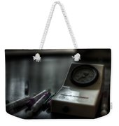 Syringe And Gauge   Weekender Tote Bag