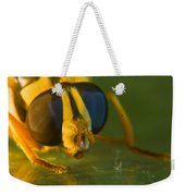 Syrphid Eyes And Antennae Weekender Tote Bag